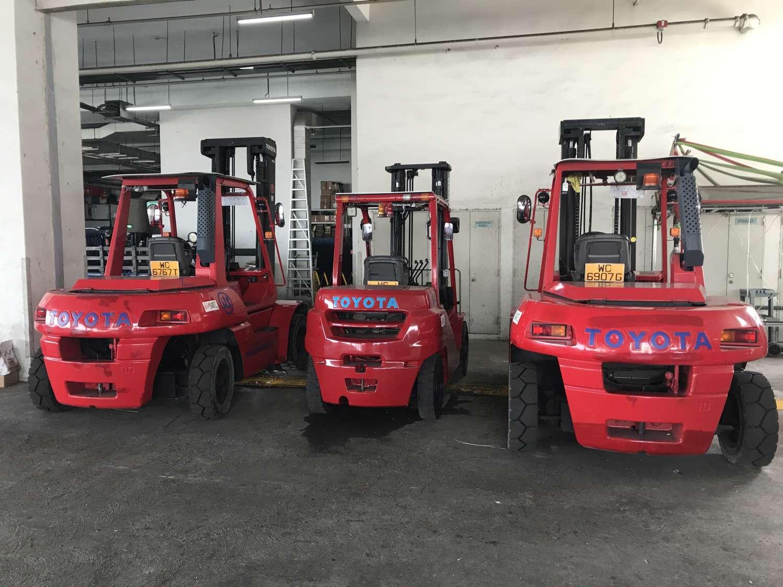 Forklift Rentals | Nam Seng Cargo Pte Ltd
